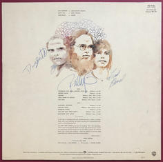 ZZ TOP - First album SIGNERAD LP