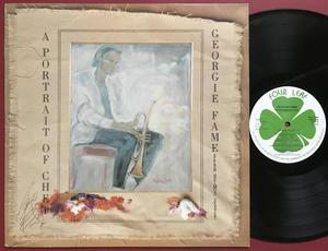 GEORGIE FAME - A portrait of Chet SIGNERAD LP 1989