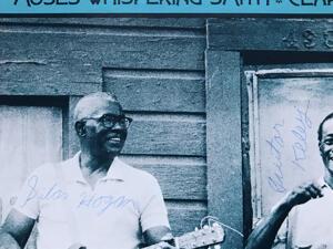 SILAS HOGAN - Louisiana blues SIGNERAD LP 1970