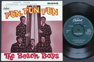 BEACH BOYS - Fun, fun, fun+ 3 UK EP 1964