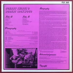 JOHNNY SHINES & ROBERT LOCKWOOD - Dust my broom SIGNERAD LP 1980