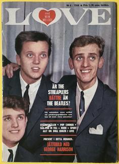 LOVE med Min Melodi - Nr 6 1964 STREAPLERS omslag