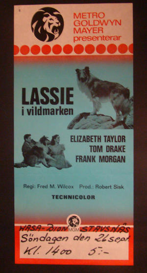 COURAGE OF LASSIE (ELIZABETH TAYLOR)
