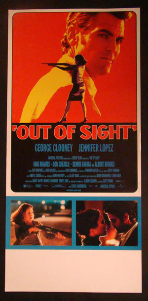 OUT OF SIGHT (GEORGE CLOONEY, JENNIFER LOPEZ)