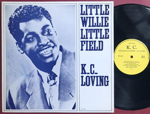 LITTLE WILLIE LITTLEFIELD - K.C. Loving SIGNERAD LP 1977