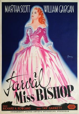 FARVÄL MISS BISHOP (1941)