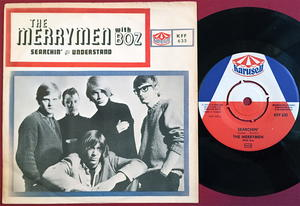 MERRYMEN with BOZ - Searchin / Understand Swe PS 1965
