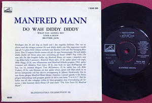 MANFRED MANN - Do wah diddy diddy Swe EP 1964