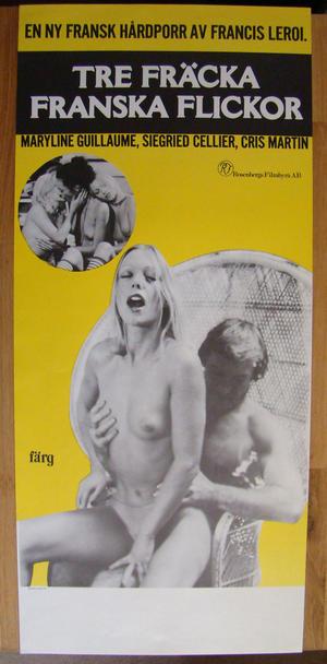 TRE FRÄCKA FRANSKA FLICKOR (1977)