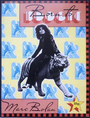 T. REX / MARC BOLAN - Born to boogie Souvenir program 1972