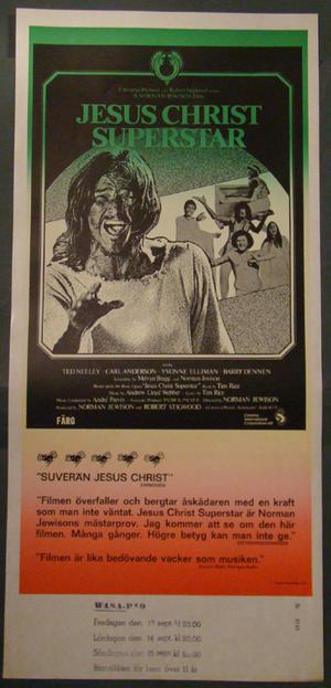 JESUS CHRIST SUPERSTAR (GILLAN / DEEP PURPLE, TED NEELEY, YVONNE ELLIMAN, ANDREW LLOYD WEBBER)