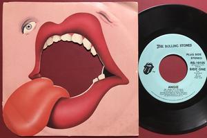 ROLLING STONES - Angie US PROMO 45 1973