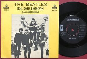 "BEATLES - Roll over Beethoven 7"" YELLOW Swe PS 1964"