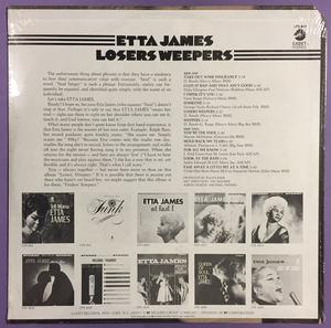 ETTA JAMES - Losers weepers US-orig LP 1970 OÖPPNAD!