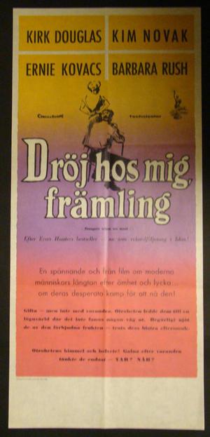 DRÖJ HOS MIG FRÄMLING