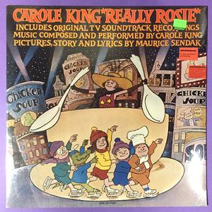 CAROLE KING - Really Rosie US-orig LP 1975 OÖPPNAD!
