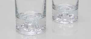 Ölglas 2 st, Himalaja, BW