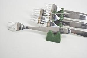 Gafflar 6 st, mat,  Scandia/Ideal, KF