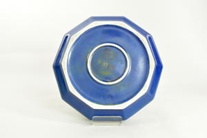 Kukkamalja, Art Deco, sininen, GN