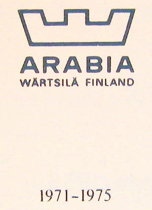 Gryta 1,5 l, Kehrä, Arabia(Finel) RU