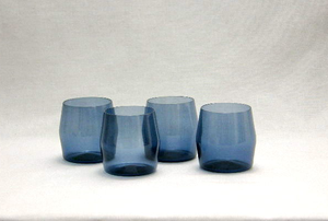 Juomalasit 4 kpl, i-103 lasi, sininen
