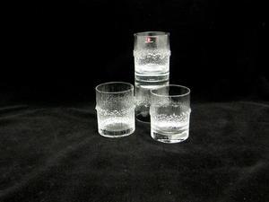 Wiskyglas, 4 st, Niva, klar, TW