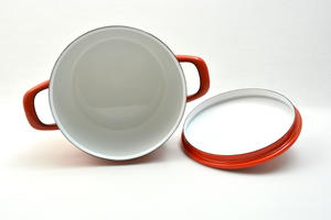 Gryta 3,5 l, Maaret röd, Arabia(Finel) RU