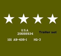 Trailer set  MBT, T3, BEN HUR