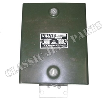 Radio filter suppression WILLYS MB NOS iwith repro dataplate