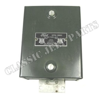 Radio filter suppression FORD GPW NOS with repro dataplate