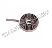 Heat control bi-metall spring