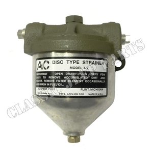 Fuel filter with AC decal
