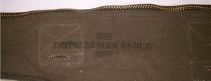 Canvas carrying bag Thompson machine gun