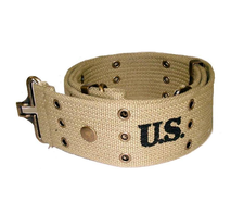Pistol belt M1936 with brass eyelets 127 cm