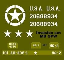 Invasion set  MB GPW