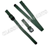 Axe and shovel strap set