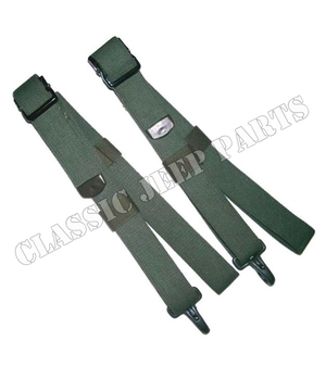 Safety strap set pair