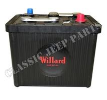 Batteri 6 volt 98 ah Willard storlek 26x17x22cm