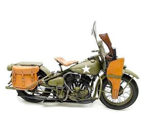 Läderfodral Scabbard Thompson kulsprutepistol för Harley Davidsson