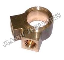 Connector master brake cylinder