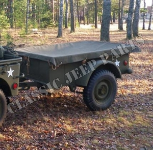 Trailer tarp WILLYS MBT BANTAM T3