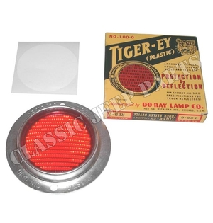 "Reflex reflector  WILLYS MB early ""Tiger Ey"""
