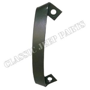 Shovel bracket with correct fasteners