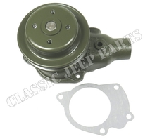 Water pump and gasket without heater fittings WILLYS MB