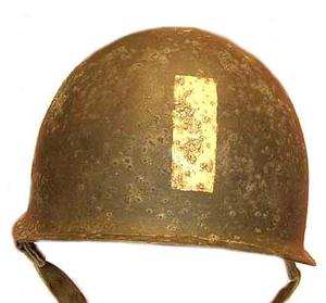 "Rear helmet stripe Officers and NCO´s early ""Market Garden"""