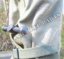 Canvas cover M31 machinegun pedestal