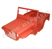 WILLYS MB body kit version E COMPOSITE January 1944-April 1945