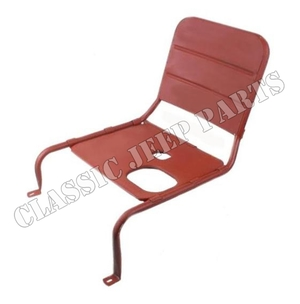 Driver seat frame with large mouth fuel filler opening FORD GPW F-script