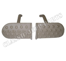 Clutch and brake pedals pair cast FORD GPW F-script