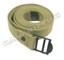 "Canvas utility strap 1"" wide 60 ½"" long"